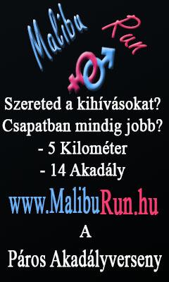 MalibuRun a páros akadályverseny